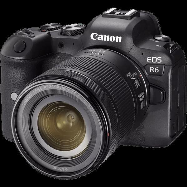 Canon eos-r6 front